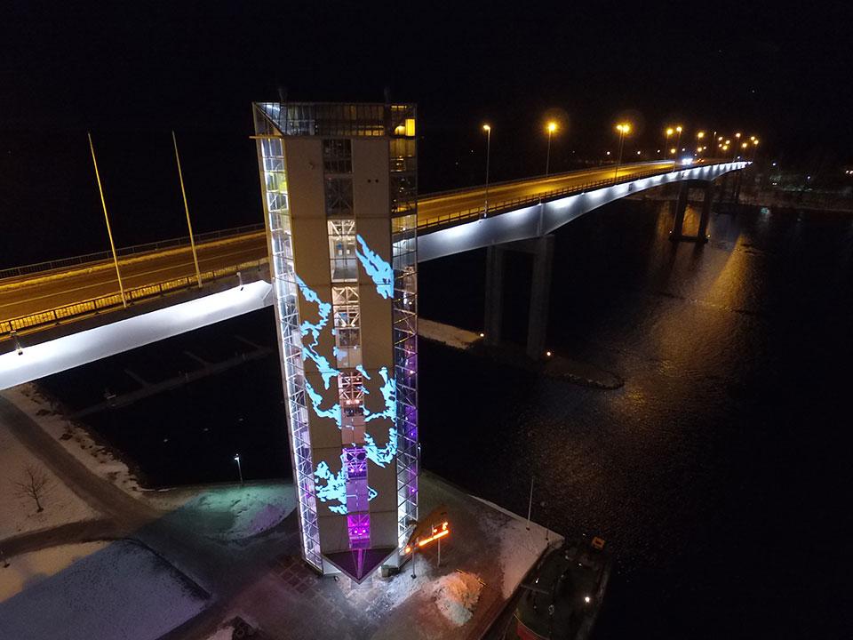 Puumalan siltatornin valaistussuunnittelu